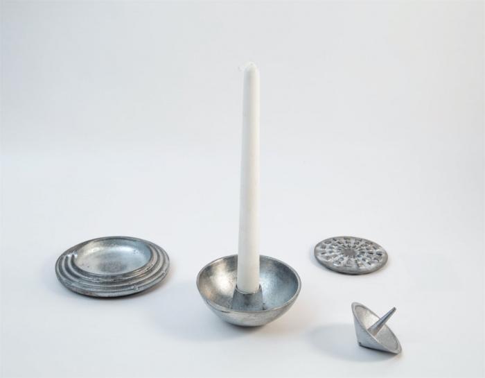 Sandcast Tableware Zinc